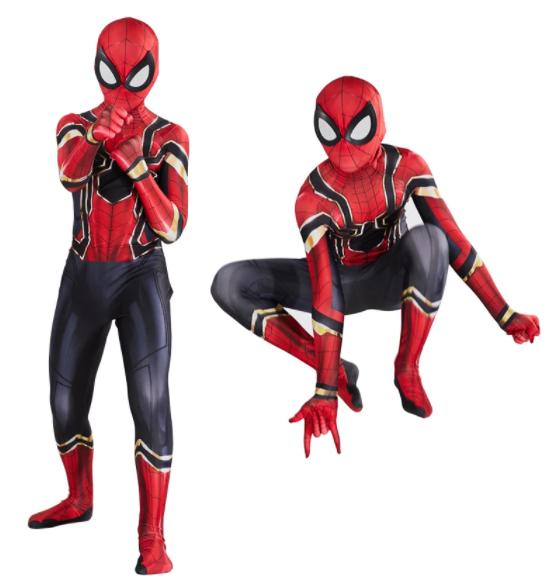 Костюм Железный человек - паук ABC спандекс ВЗРОСЛЫЙ S (165-170 см)