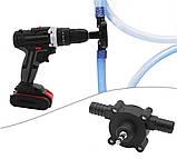 Насос на дриль для перекачування палива REWOLT SL015, фото 5