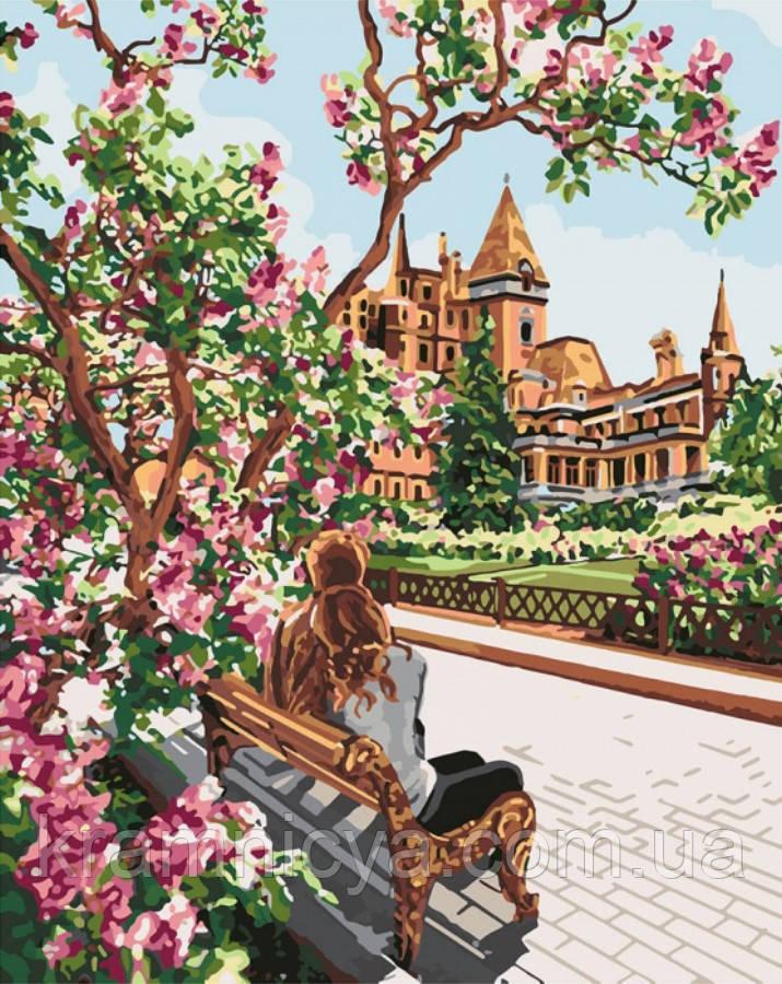 Картина по номерам Отдых в тени, 40x50 Идейка (КНО4717)