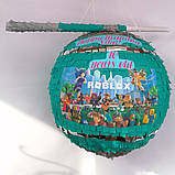 Пиньята roblox бумажная для праздника роблокс пиньята шар обхват 88-90см, фото 3