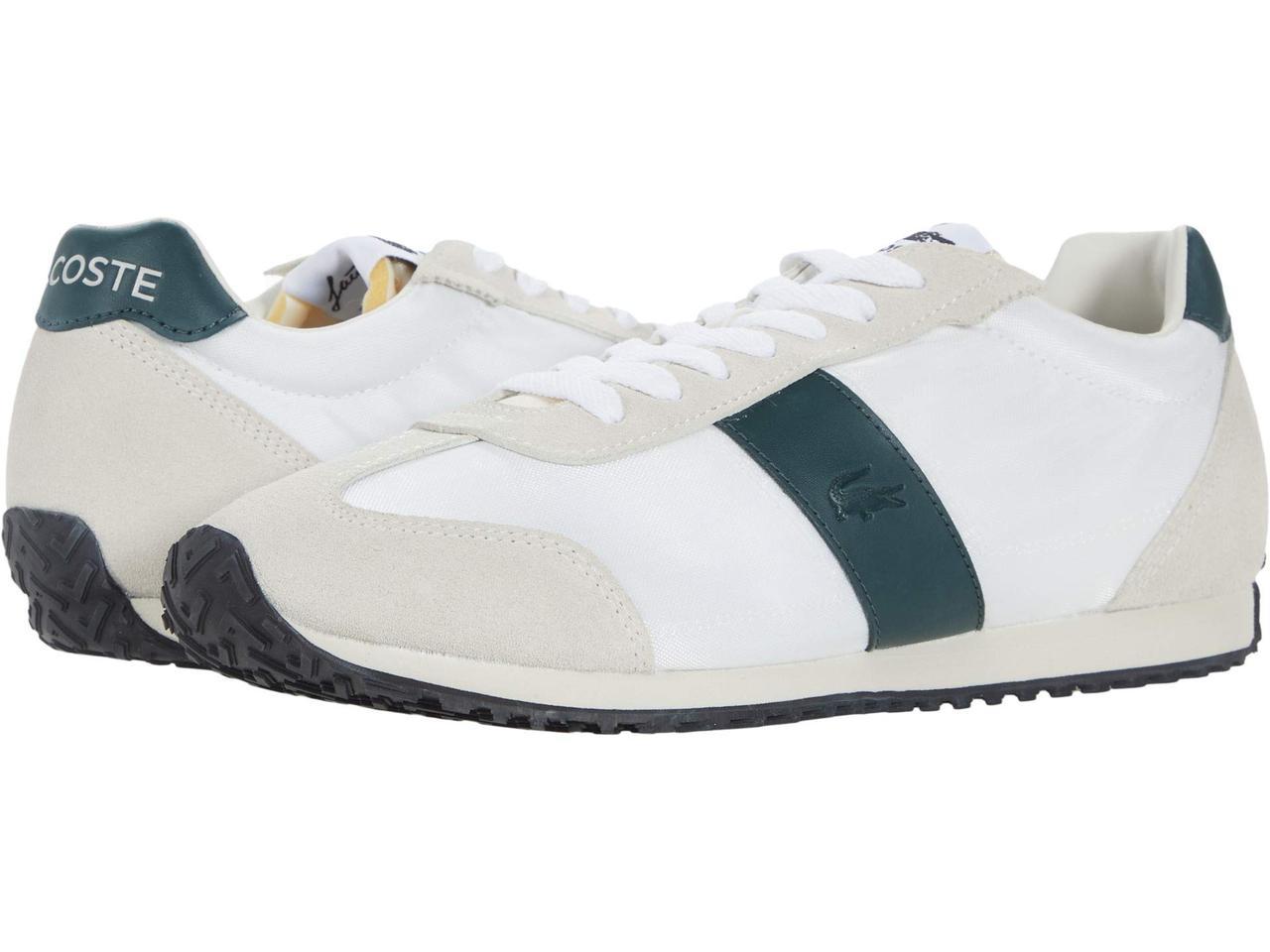 Кросівки/Кеди (Оригінал) Lacoste Court Pace 0721 1 Off-White/Dark Green