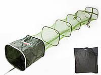 Садок 4,0м. 45*38см для рыбалки Shark Osprey - прорезин. длинный карповый