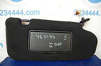 Козырек солнцезащитный INFINITI FX35 S50 03-08