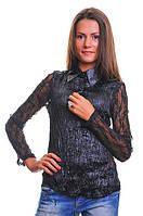 Блуза женская гипюр