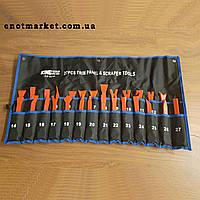 Набор инструментов съемники лопатки для снятия обшивки салона, панелей авто, магнитол, удаления клипс 27 шт.