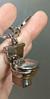 Брелок на ключи унитаз серебристый металл крутой, фото 6