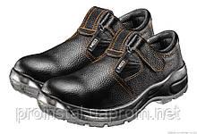 Сандалии рабочие NEO S1 SRA кожаные,  р.42/28см, ударопоглощение, антистатические, метал. подносок до 200 Дж,