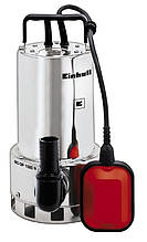 Насос дренажный Einhell GC-DP 1020 N, 1000 Вт, 18000 л/ч, выс. 9 м, глуб. 5 м, корпус нержавейка