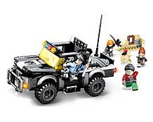 Конструктор JVToy Полицейский Джип серия Замечательный город, 24009
