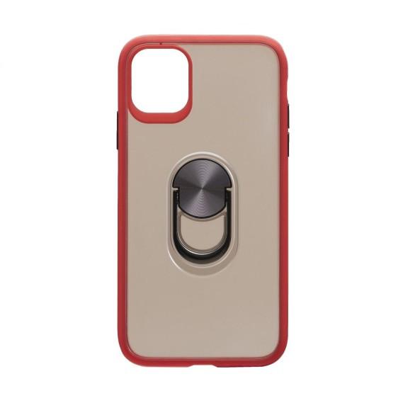 Противоударный чехол TOTU Ring Magnetic с функцией подставки для Apple iPhone 11