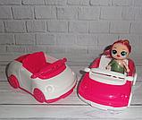 Лялька ЛОЛ ЛОЛ в кабріолеті, фото 3
