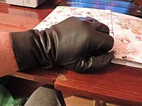 Перчатки армейские кожаные. Патрульные, повседневные. Франция. Козья кожа. , фото 1