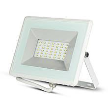 Прожектор уличный LED V-TAC, 30W, SKU-5956, E-series, 230V, 4000К, белый