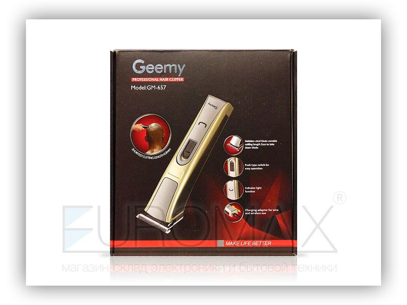 Машинка для стрижки Geemy GM-657 40шт 9766