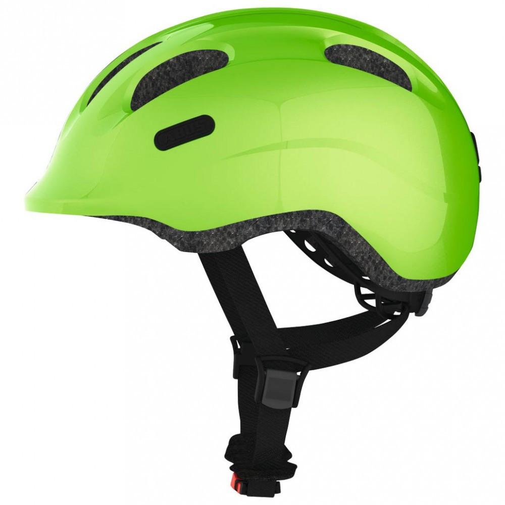 Велосипедний дитячий шолом ABUS SMILEY 2.0 S 45-50 Sparkling Green 725784