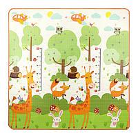 Игровой коврик развивающий для детей 4FIZJO Двухсторонний 180 х 180 см Разноцветный (4FJ0163), фото 1