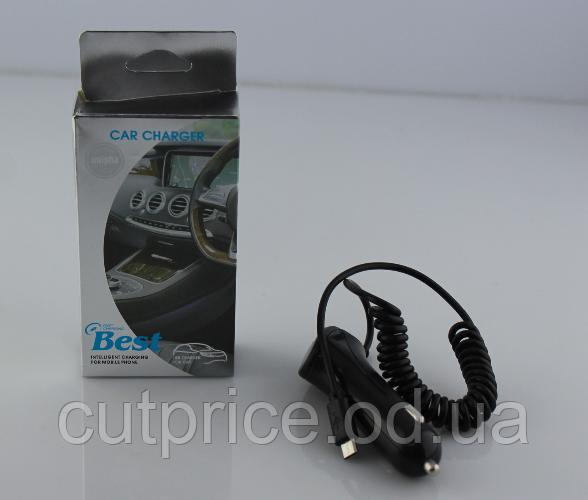 Адаптер MICRO CAR 12v-SAMSUNG V8 (250)