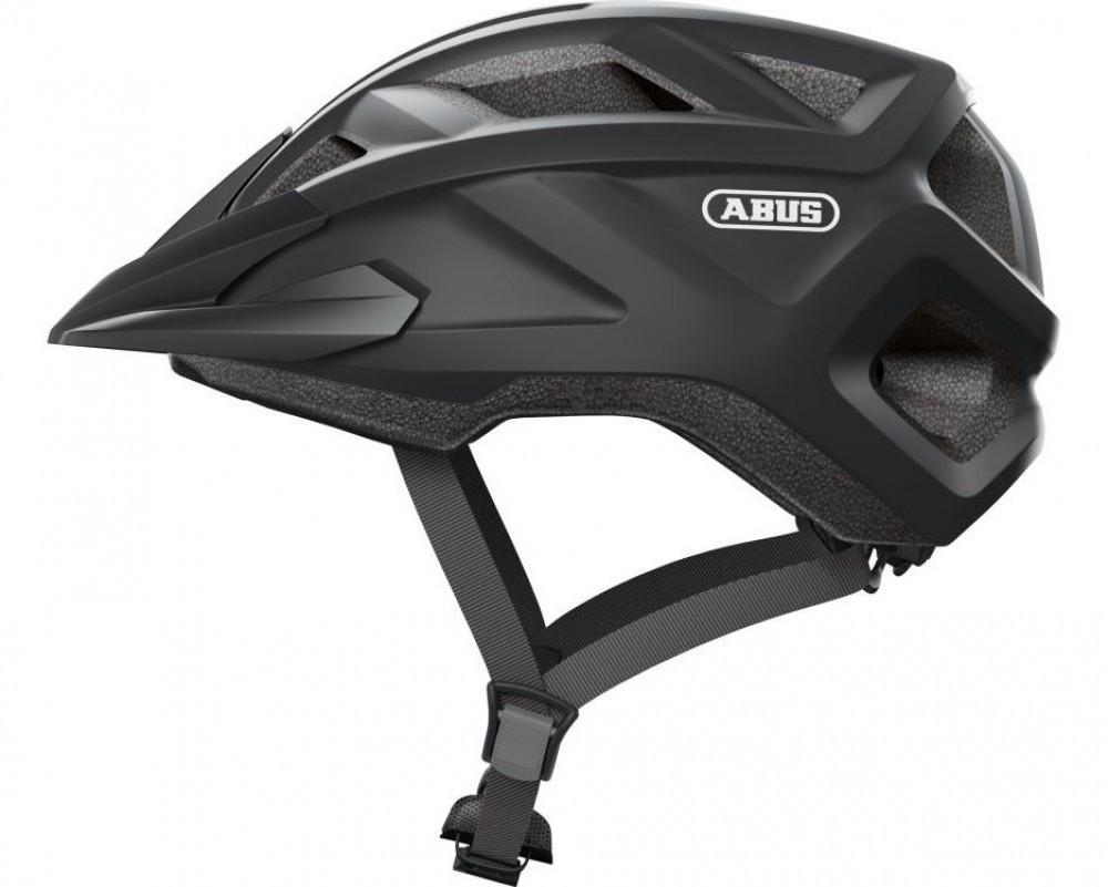 Велосипедний дитячий шолом ABUS mountz M 52-57 Velvet Black 869662