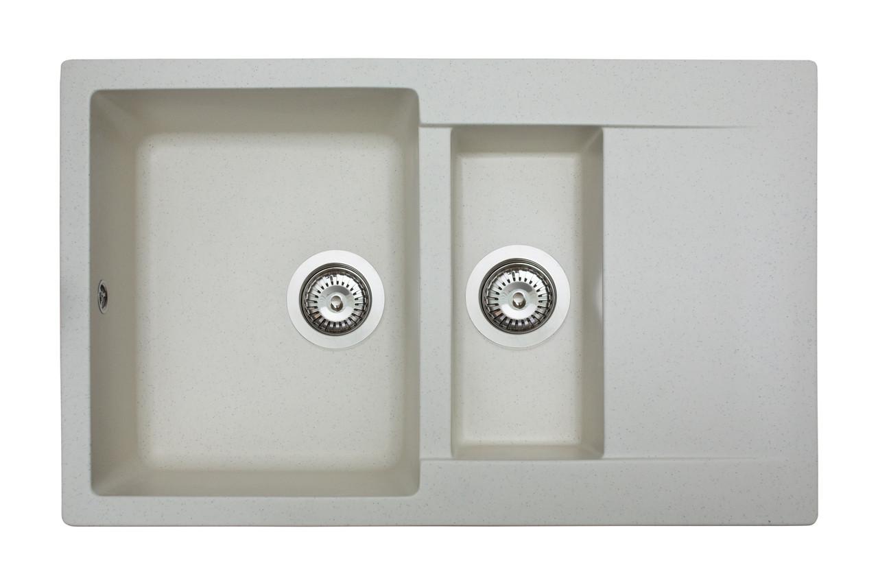 Кухонна мийка гранітна MIRAGGIO LAPAS Jasmine