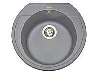 Кухонная мойка гранитная MIRAGGIO TULUZA gray, фото 1