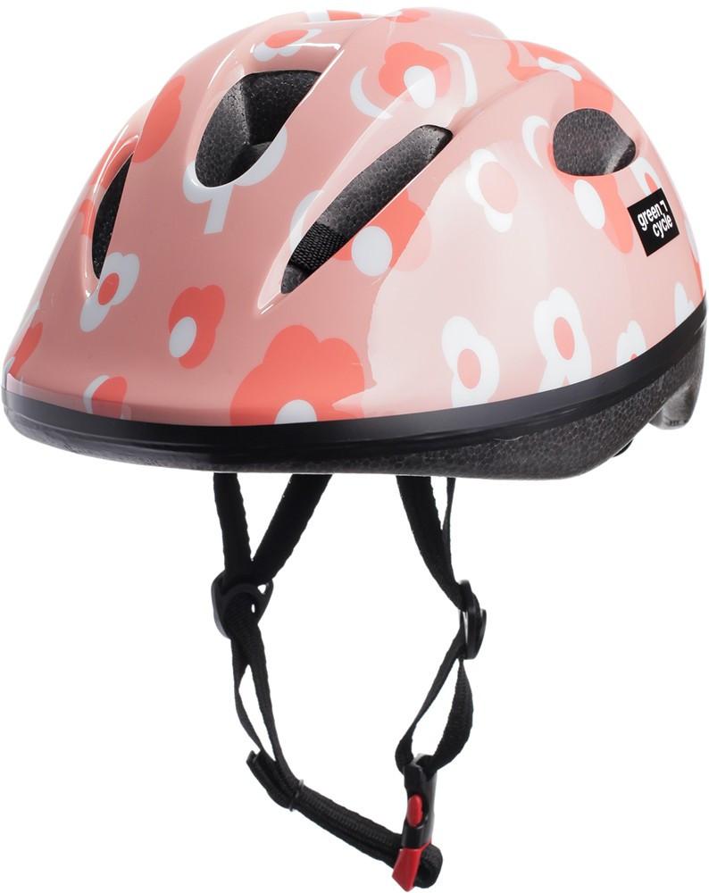 Велосипедний дитячий шолом Green Cycle MIA 50-54 Рожевий HEL-86-25