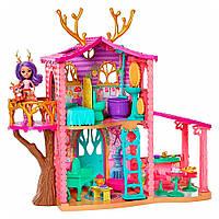 Игровой набор Enchantimals Лесной домик Данессы Оленихи Энчантималс Cozy Deer House
