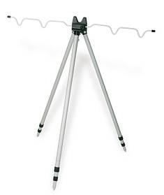 Подставка раскладная для рыболовных удилищ под фидер Lineaeffe Tripod 1.20 м 3-х секц