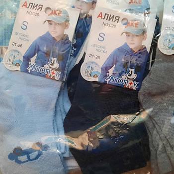 Детские носки на мальчика хлопок АЛИЯ Р.р 21-26
