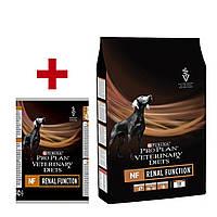 Purina Pro Plan РVD NF 3кг+ консерва 400г корм для собак c заболеваниями почек