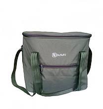Термосумка, сумка-холодильник большая 30 л на пляж, на рыбалку, на природу