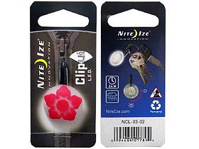 Карабин светодиодный Nite Ize CarbClip SBiner NI742 Цветок Red