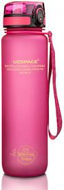 Бутылка для воды Uzspace 3038 1000 мл Pink