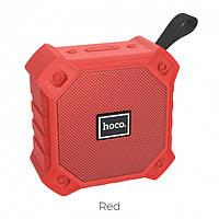 Портативная Bluetooth колонка HOCO sports BS34 Red