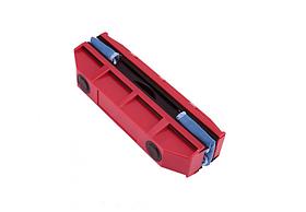 Магнітна щітка для миття вікон двостороння Glider Red
