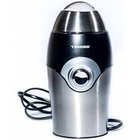 Электрическая кофемолка измельчитель Tiross TS-530 150W 50гр Steel