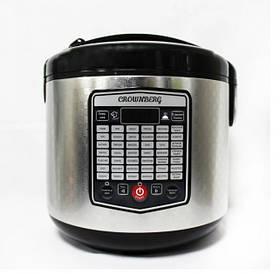 Мультиварка пароварка Crownberg CB-5525 45 программ 5 л 860W Silver/Black