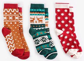 Шкарпетки дитячі Dodo Socks набір Mykolaiko 2-3 роки, 3 пари