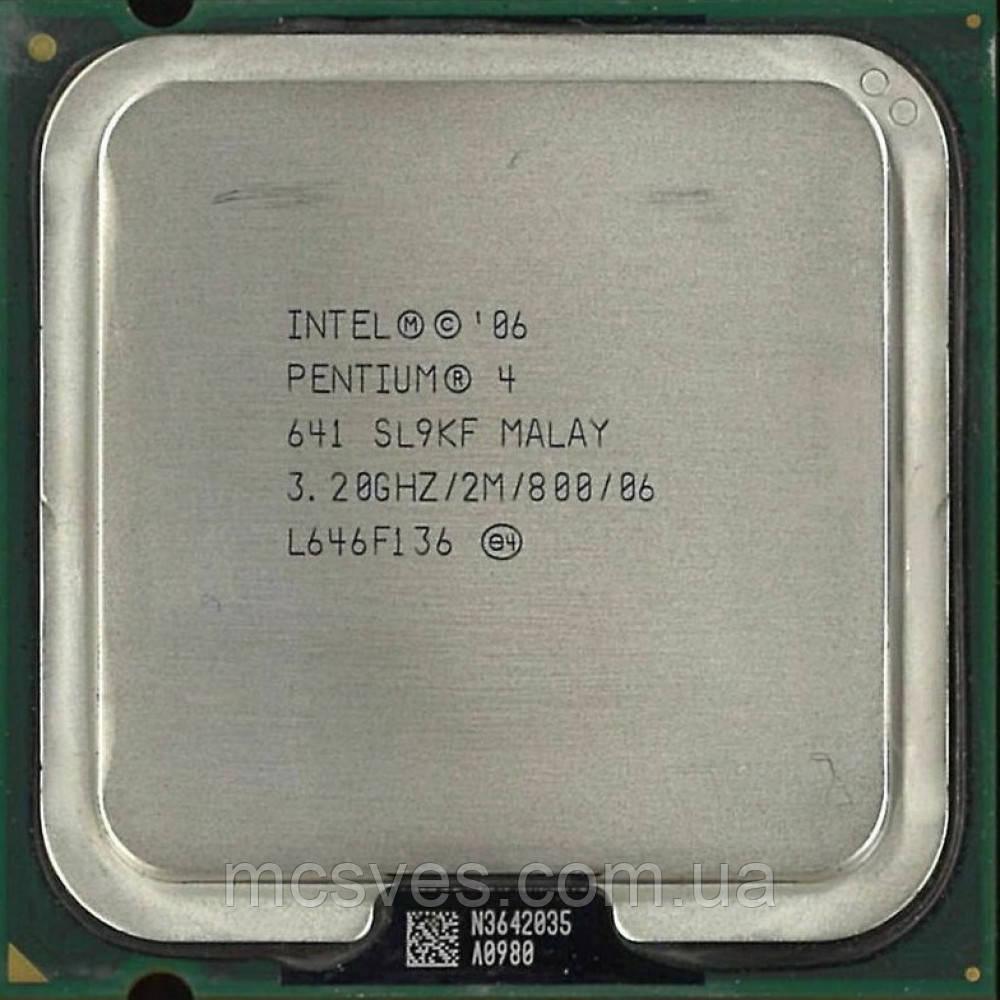Процессор SL9KF Intel Pentium 4 641 CPU 3.2GHz 800 2M LGA 775