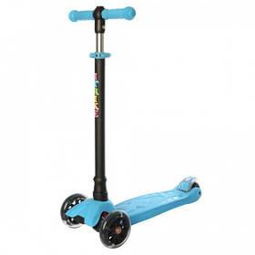 Самокат трехколесный детский iTrike JR 3-073-B светящиеся колеса Blue