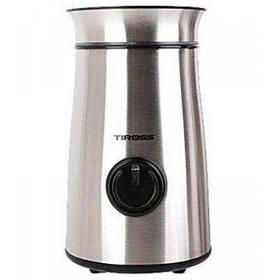 Электрическая кофемолка измельчитель Tiross TS-532 150W 50гр Steel