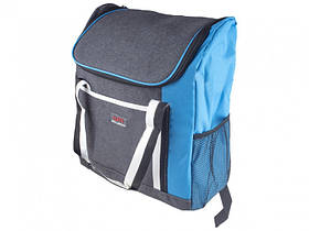 Термосумка-рюкзак WM 2020-5 32х17х37 см Gray/Blue