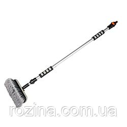 Щітка для миття з телескопічною ручкою, 160см, ЖИРАФ, ES2073