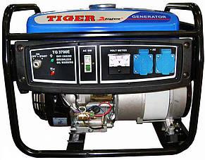 Бензиновый генератор с эл.стартером TIGER TG3700E (2.5-2.8кВт 100% медь), фото 2