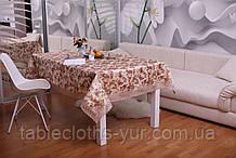 Скатерть Праздничная с Кружевом 110-150 3D «Beautiful» Прямоугольная №9