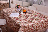Скатерть Праздничная с Кружевом 110-150 3D «Beautiful» Прямоугольная №9, фото 4