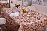 Скатертина Святкова з Мереживом 110-150 3D «Beautiful» Прямокутна №9, фото 4