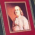 """Книга в кожаном переплете """"Воспоминания"""" Бенджамин Франклин, фото 5"""