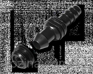 Старт-Коннектор для трубки 16мм с прокладкой,  DSWA07-16L