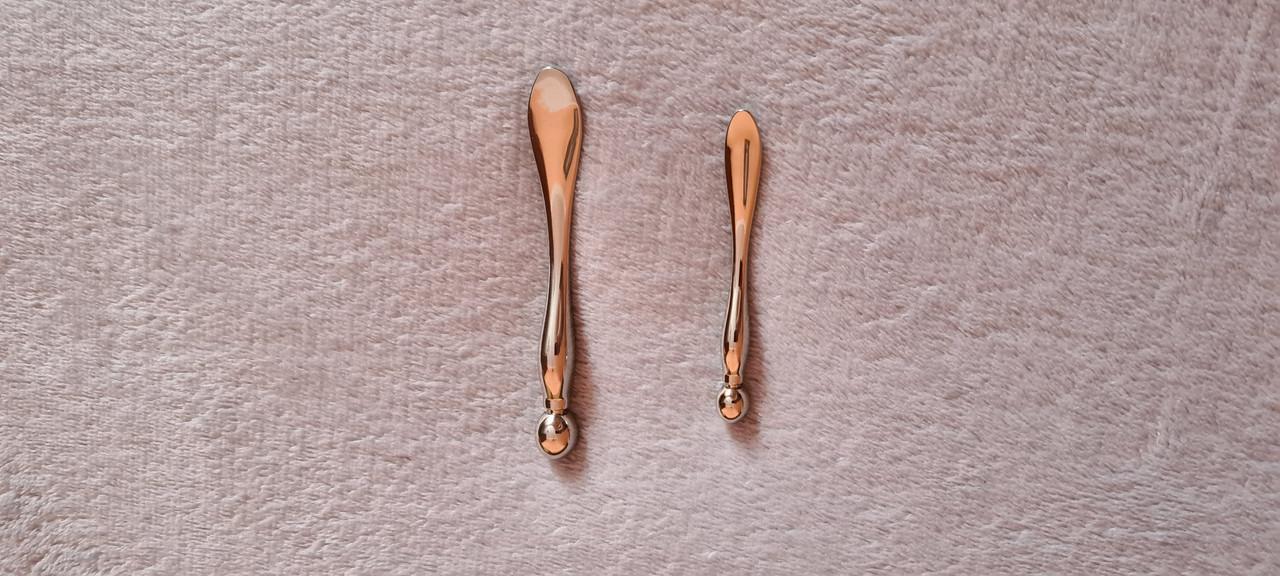 Міні блейд для обличчя гуаша скребок сталь