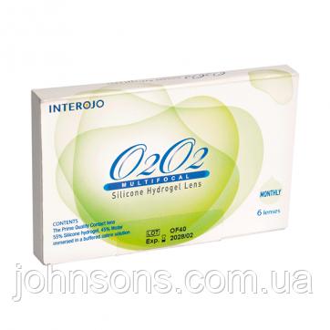 Контактні лінзи О2О2 multifocal 1 шт
